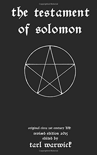 The Testament Of Solomon