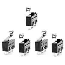 URBEST 10Pcs SPDT 3 Terminals Snap Action Micro Momentary Limit Switch