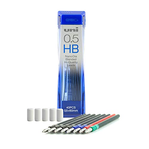 uni JETSTREAM 4&1 Accessory Pack/Pen Refill Kit (0.5mm)
