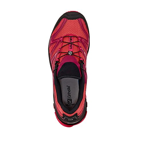Salomon Trail Score Women mineral red/beet red