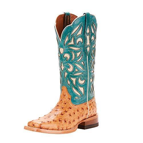 Ladies Full Quill Ostrich Boots - ARIAT Women's Carmencita Western Boot Light