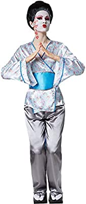 dressforfun 900559 Disfraz de Mujer Encantadora Geisha Aiko, Traje ...