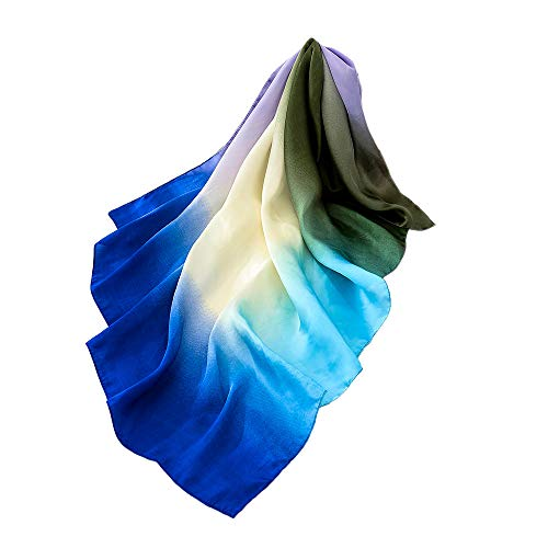 colore Aimee7 leggera lunga scialli Sciarpa donna D seta sciarpa sfumatura chic elegante nwqvwYt1r