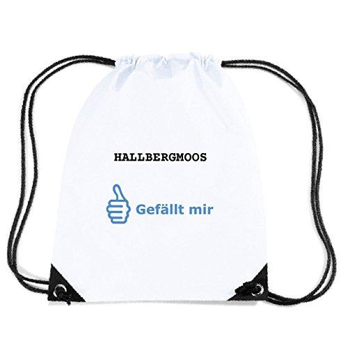 JOllify HALLBERGMOOS Turnbeutel Tasche GYM2533 Design: Gefällt mir