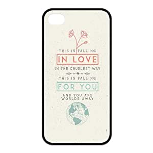 the Case Shop- Taylor Swift Quotes Singer TPU Rubber Hard Back Case Silicone Cover Skin for iPhone 4 and iPhone 4S , i4xq-482