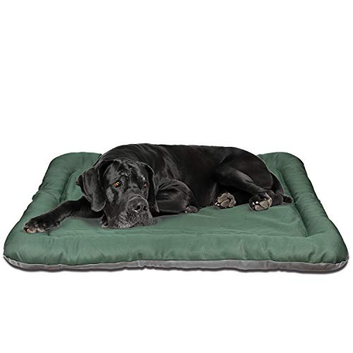 Yitesen Dog Bed Large Crate Mat 40 in Medium Dogs House 100% Washable Soft Mattress Kennel Pads for Dogs, Cats - Lightweight Nap Pad for Dog Kennels and Pet Carriers ()