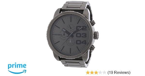 Amazon.com: Diesel Mens DZ4215 Analog Display Analog Quartz Grey Watch: Diesel: Watches