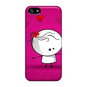 New Snap-on Saraumes Skin Case Cover Compatible With Iphone 5/5s- Playing With Love