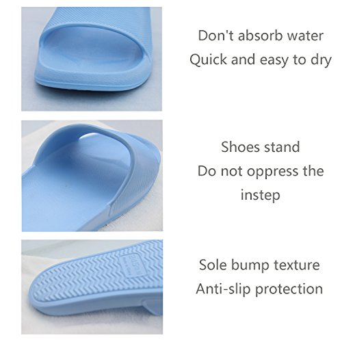 Women's Anti Unisex Pink Men House Shoes Couples Indoor Slippers Sandal Bathroom slip ZXZRFwqHx