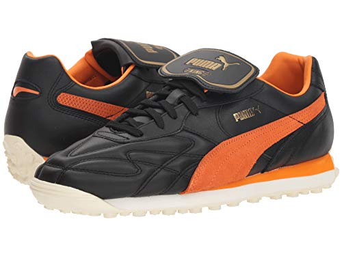 [PUMA(プーマ)] メンズランニングシューズ?スニーカー?靴 King Avanti (Legends Pack) Puma Black/Vibrant Orange 10.5 (28.5cm) D - Medium