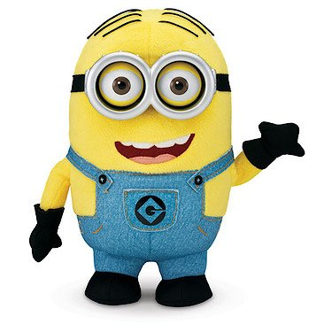 Despicable Me Minion Dave Original Voice Talking Interactive Plush With Pop-Out Eyes]()