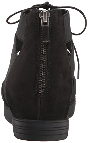 Eileen Fisher Womens Sandalo Flat Da Collegamento Nero