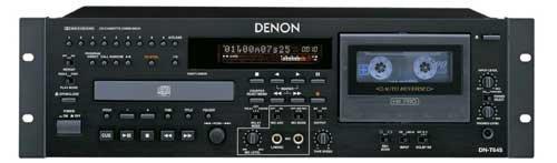 Denon Cd Recorder - Denon DN-T645 - CD / MP3 player / cassette recorder - black