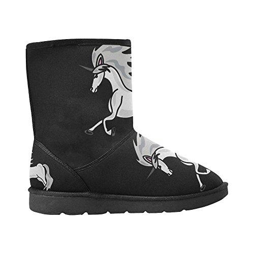 InterestPrint LEINTEREST unicorn Snow Boots Fashion Shoes For Men Gd7AgjlVk4