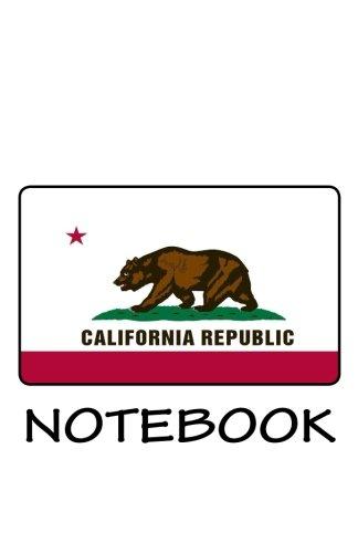 Read Online NOTEBOOK - USA California Flag ebook