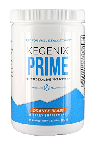 14 Day Kegenix PRIME Keto Weight Loss Supplement | Patented Keto Drink with BHB & MCT - Energetic Weight Loss - NEW & IMPROVED FLAVOR ORANGE BLAST| Now 28 SERVINGS - New Weight Loss Formula