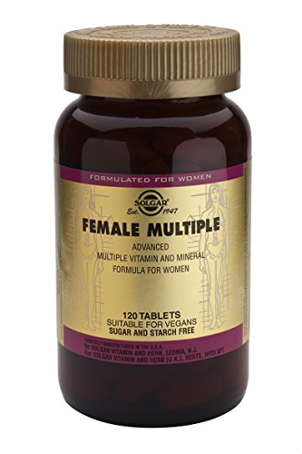 Solgar Female Multiple Tablets, 120 Count
