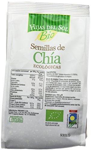 Hijas Del Sol Bio Semillas De Chía - 350 gr: Amazon.es ...