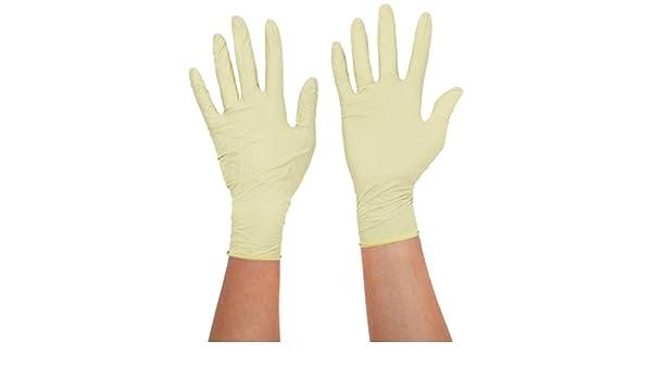 color blanco Pack de 100 touchflex n318/C-40s libre de polvo desechables guantes de nitrilo peque/ño//7