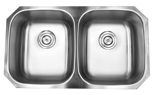 Contempo Living 18-904 32 inch Undermount 5050 Double Bow...