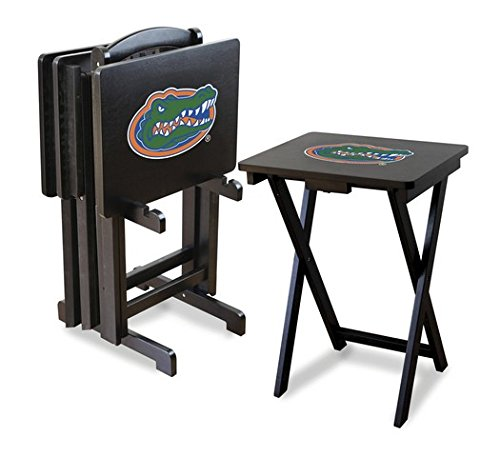 NCAA Florida Gators Tv Trays With Stand, One Size, Multicolor by Imperial