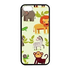 SUUER Colorful Elephant Personalized Custom Plastic Hard CASE for iPhone 5 5s Durable Case Cover