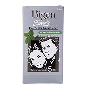 Bigen Speedy Hair Color, Brownish Black 882