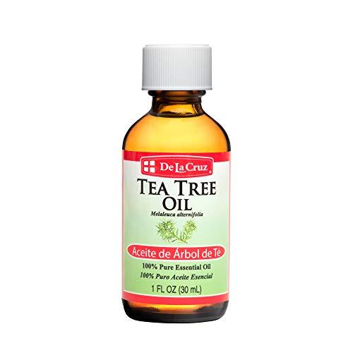 De La Cruz Australian Tea Tree Essential Oil, 100% Pure, Steam-Distilled, Bottled in USA 1 FL. OZ.
