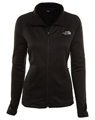 The North Face Women's Momentum Full Zip Fleece TNF Black L by The North Face