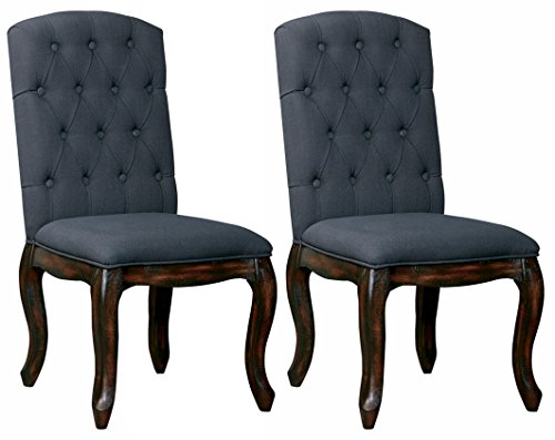 Ashley Furniture Signature Design - Trudell Dining Room Chair - Pine Wood - Set of 2 (Set Dining Pine)