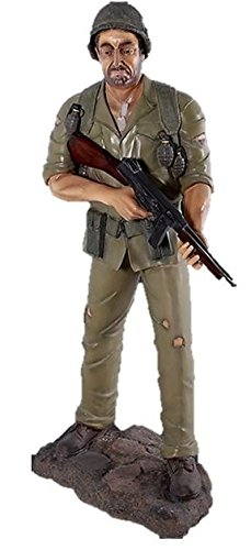 Amazon com: LM Treasures WWII Life Size War Solider Statue