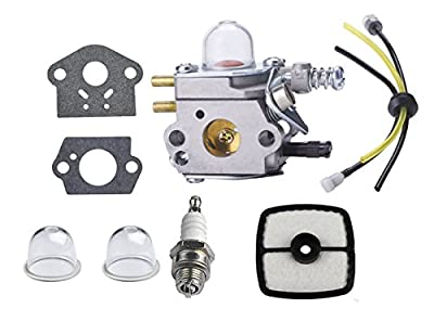 Neeknn Carburetor C1U-K29 C1U-K47 C1U-K52 SRM2100 SRM2110 SHC1700 SHC2100 with Repower Kit for Power Pruner Trimmer - Zama Carburetor Kit
