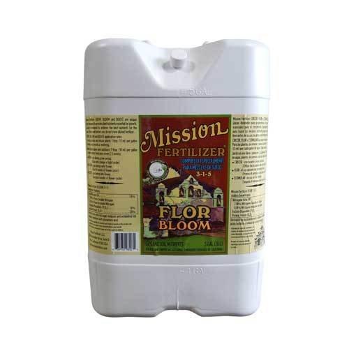 Mission Fertilizer Bloom Organic soil nutients (Liquid, 5 Gallon) by Mission Fertilizer