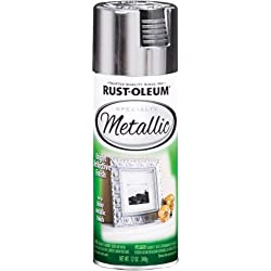 Rust-Oleum 1915830 Metallic Spray, Silver, 11-Ounce