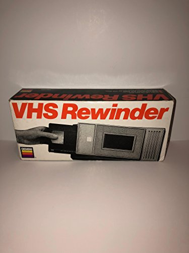 GEMINI VHS rewinder, Saves Wear on VCR Heads and Motor by Gemini Industries, Inc.