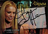 Grimm 2013 Autograph Card CCAC-1 Claire Coffee as Adalind Schade
