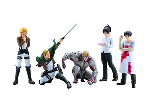 Animewild Attack On Titan Series 4 Capsule Toys Mini Figure (1 Random) ()