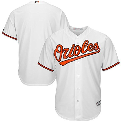 Baltimore Orioles MLB Men's Big and Tall Cool Base Home Team Jersey White (5XL) (Jersey White Mlb Baseball)