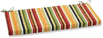 Pillow Perfect Outdoor Indoor Dina Noir Bench Cushion