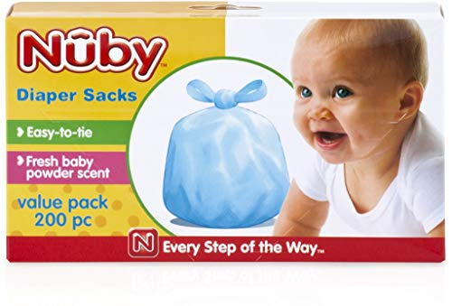 Nuby Diapers - Nuby™ Scented Diaper Sacks 200 Count(pack Of 24)