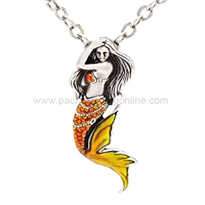 Mystica collection jewelry necklace mermaid for Selling jewelry on amazon