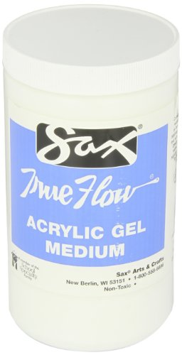 - Sax True Flow Acrylic Gel Medium - 1 Quart