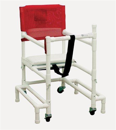 `Walker PVC w/Ht Adj Arms & Seat-Standard ()