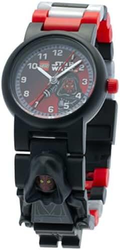 LEGO Kids' 9005527 Star Wars Darth Maul Minifigure Link Watch