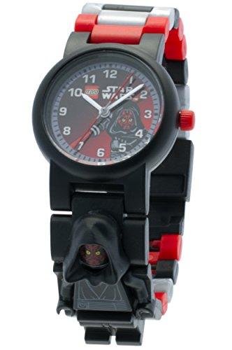 LEGO 9005527 LEGO Star Wars Darth Maul Minifigure Link Watch (Vader Lego Darth Watch)
