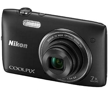 NIKON S3400 - negro + Tarjeta de memoria SDHC: Amazon.es ...