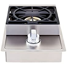 Lion Grills Premium L6247 Propane Gas Single Side Burner, 20-1/2 by 12-1/2-Inch