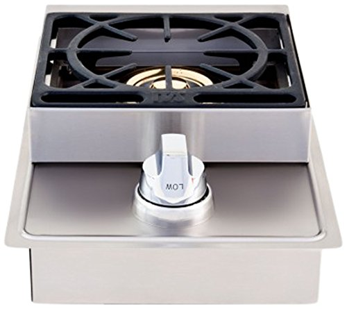 Lion Premium Grills L6247 Propane Gas Single Side Burner, 20-1/2 by 12-1/2-Inch