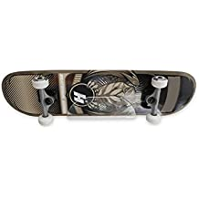 Source One Skateboard Storage Display Rack - Invisible Clear Wall Mount Display & Custom UV Printing Design of Your Choice (1 Pack, Clear)
