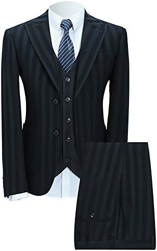 [スポンサー プロダクト]WEEN CHARM(ウィンチャーム)スーツ メンズ スリム スリーピースセットアップ カジュアル ビジネス